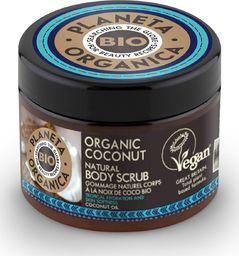 Planeta Organica Scrub do ciała Coconut nawilżająco-wygładzający 300ml