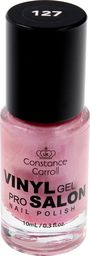Constance Carroll Constance Carroll Lakier do paznokci z winylem nr 127 Pearly Pink  10ml