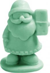 LaQ Mydło w kostce Mały Św. Mikołaj zielone 30g