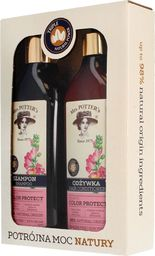 Mrs. Potters Mrs Potters Potrójna Moc Natury Zestaw Triple Flower(szampon+odżywka 390mlx2)