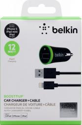 Ładowarka Belkin F8J121bt04-BLK  do iPad 2.4A z kablem Lightning Czarna