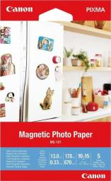 Canon Canon MG-101 4X6 5 SHEETS/MAGNETIC PHOTO PAPER