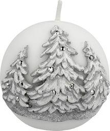 Artman świeca Zimowe Drzewka kula Q8 (984905)
