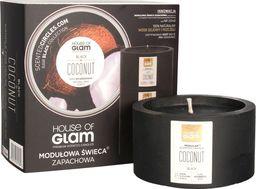 House of Glam House Of Glam Modułowa Świeca zapachowa Black Coconut 200g