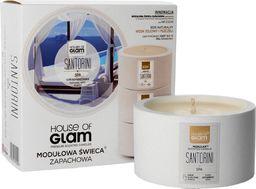 House of Glam House Of Glam Modułowa Świeca zapachowa Santorini Spa  200g