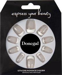 Donegal SZTUCZNE PAZNOKCIE z klejem Express Your Beauty (3041)  1op.-28szt