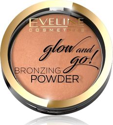 Eveline Eveline Glow & Go Bronzer wypiekany nr 02 Jamaica Bay 1szt