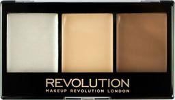 Makeup Revolution Makeup Revolution Paletka do konturowania twarzy Ultra Cream Contour Kit Lightening F01, 1 szt.
