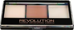 Makeup Revolution Makeup Revolution Ultra Contour Kit Zestaw do konturowania twarzy Lithening Contour 02  1szt