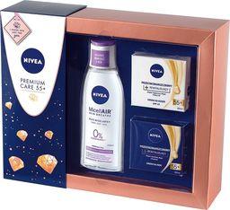 Nivea Nivea Zestaw prezentowy Premium Care 55+(krem n/dzień 50ml+krem n/noc 50ml+płyn micel. 200ml)