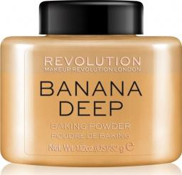 Makeup Revolution Loose Baking Powder Banana (Deep)
