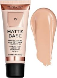 Makeup Revolution Matte Base Fundation F4 28ml