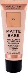 Makeup Revolution Matte Base Fundation F7 28ml