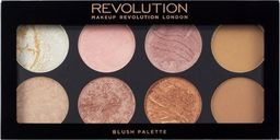 Makeup Revolution Paletka bronzerów i róży Ultra Blush Palette Golden Sugar