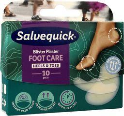 Salvequick  Salvequick Plastry Foot Care na pęcherze i otarcia  1op.-10szt