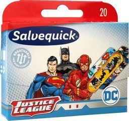 Salvequick  Salvequick Plastry Justice League  1op.-20szt
