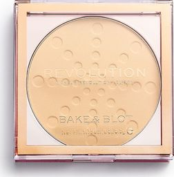 Makeup Revolution Bake&Blot  Puder Prasowany Banana