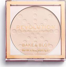 Makeup Revolution Bake&Blot Puder Prasowany Translucent