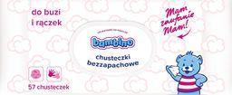 Bambino BAMBINO Chusteczki bezzapachowe z zamknięciem do buzi i rączek  1op.-57szt