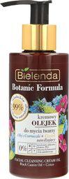 Bielenda Olejek do mycia twarzy Botanic Formula Olej z Czarnuszki + Czystek Kremowy 140ml