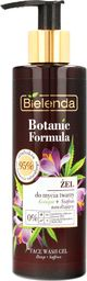 Bielenda Żel do mycia twarzy Botanic Formula Olej z Konopi + Szafran 200ml
