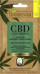 Bielenda CBD Cannabidiol Maseczka nawilżająco-detoksykująca  8g