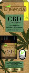 Bielenda Bielenda CBD Cannabidiol Serum-Booster do twarzy nawilżająco-detoksykujące  15ml