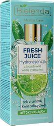 Bielenda Hydro-esencja do twarzy Fresh Juice Limonka 110ml