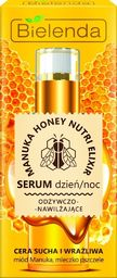 Bielenda Serum do twarzy Manuka Honey Nutri Elixir odżywczo-nawilżające 30g