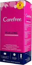Carefree Carefree Plus Long Light Scent Wkładki higieniczne  1op.-40szt