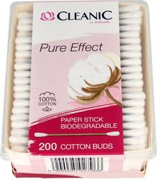 Cleanic Cleanic Patyczki higieniczne Pure Effect  1op.-200szt