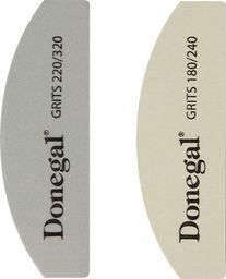 Donegal DONEGAL ZESTAW DO MANICURE - pilnik 180/240+polerka 220/320 (2080) 1op.