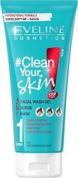 Eveline Żel do mycia twarzy #Clean Your Skin 3w1 200ml