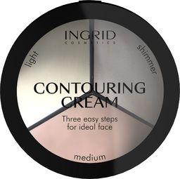 INGRID Ingrid Ideal Face Kremowy Zestaw do konturowania twarzy  18g
