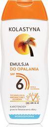 Kolastyna Kolastyna Opalanie Emulsja do opalania SPF6  200ml