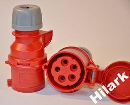 Hilark Gniazdo siłowe 16A 5 bolców producent PCE 215-6