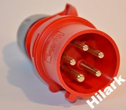 Hilark Wtyczka siłowa, 16A, 5 bolców producent PCE
