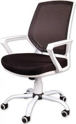 GIOSEDIO Fotel biurowy GIOSEDIO czarno-biały, model FBB042 FBB042