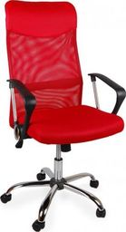 GIOSEDIO Fotel biurowy GIOSEDIO czerwony,model BSX001 BSX001