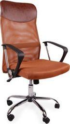 GIOSEDIO Fotel biurowy GIOSEDIO brązowy, model BSX003 BSX003
