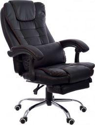 GIOSEDIO Fotel biurowy FBK004R czarny
