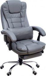 GIOSEDIO Fotel biurowy GIOSEDIO szary, model FBK011 FBK011