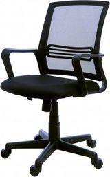 GIOSEDIO Fotel biurowy GIOSEDIO czarny, model FBX004 FBX004