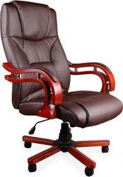 GIOSEDIO Fotel biurowy GIOSEDIO brązowy, model BSL003 BSL003