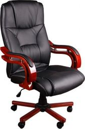 GIOSEDIO Fotel biurowy BSL004 czarny