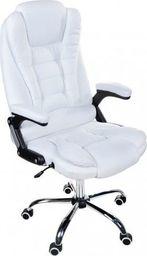Krzesło biurowe Giosedio FBJ003 Biały