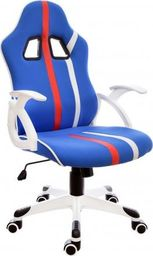 GIOSEDIO Fotel biurowy GIOSEDIO niebieski, model FBL008 FBL008