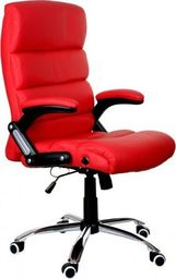 GIOSEDIO Fotel biurowy GIOSEDIO czerwony,model BSD001 BSD001