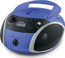 Radioodtwarzacz Grundig Grundig GRB 3000, a CD player(blue / silver, FM radio, CD-R / RW, Bluetooth)