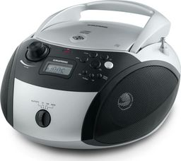 Radioodtwarzacz Grundig Grundig GRB 3000, CD Player(silver / black, FM radio, CD-R / RW, Bluetooth)